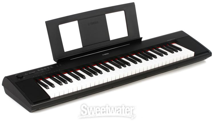 yamaha piaggero np 12 61 key piano review sweetwater. Black Bedroom Furniture Sets. Home Design Ideas