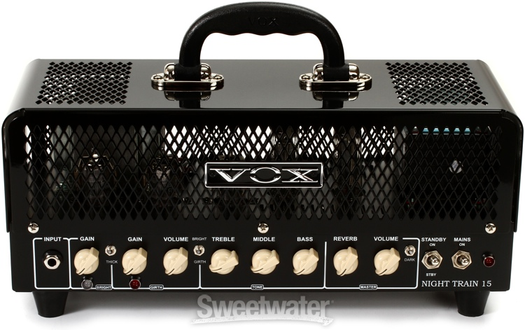 vox night train nt15h g2 15 watt tube head. Black Bedroom Furniture Sets. Home Design Ideas