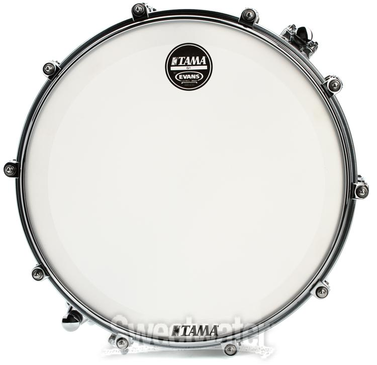 Tama PBC146MNC Bubinga Snare Drum Review by Sweetwater ...