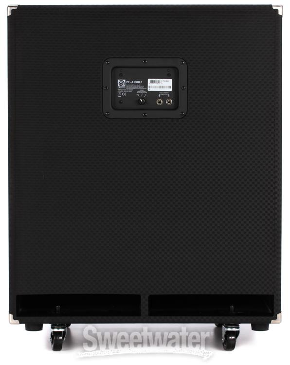 ampeg pf 410hlf 4x10 800 watt portaflex bass cabinet. Black Bedroom Furniture Sets. Home Design Ideas