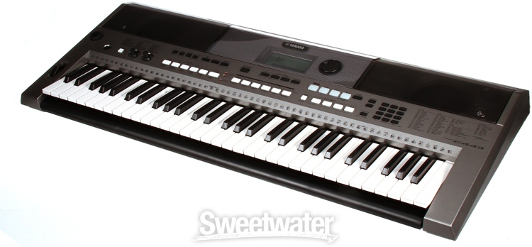 yamaha psr e443 61 key portable arranger. Black Bedroom Furniture Sets. Home Design Ideas