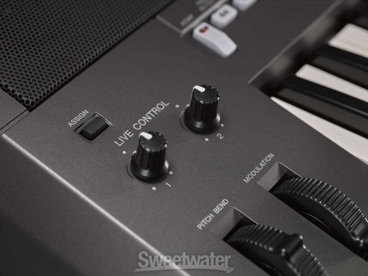 Yamaha psr s770 arranger keyboard workstation demo by for Yamaha psr s770 61 key arranger workstation