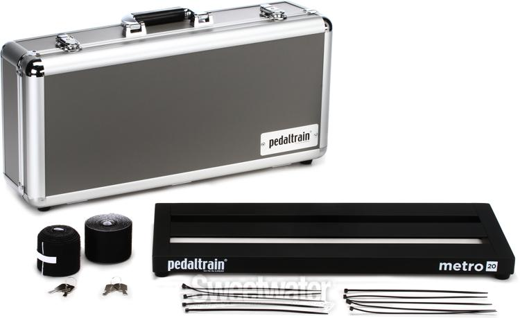 Pedaltrain Metro 20 20 Quot X8 Quot Pedalboard With Hard Case