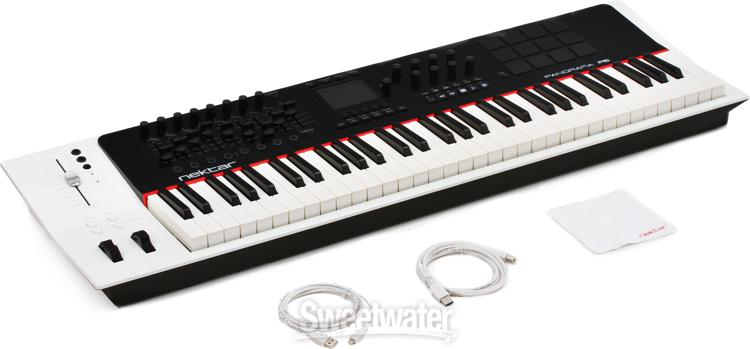 nektar panorama p6 61 key midi controller keyboard demo sweetwater. Black Bedroom Furniture Sets. Home Design Ideas