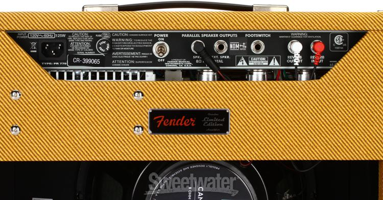 "Fender Tweed Amp >> Fender Sweetwater-exclusive '65 Princeton Reverb - 15W 1x12"" Guitar Combo Amp - Lacquered Tweed ..."