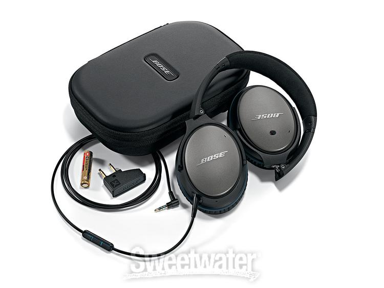 Bose QC25 Noise-Canceling Headphones