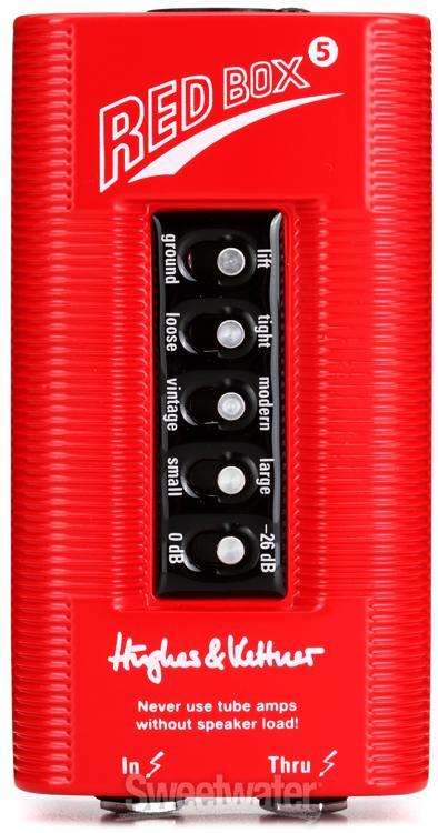 hughes kettner red box 5 di and speaker simulator. Black Bedroom Furniture Sets. Home Design Ideas