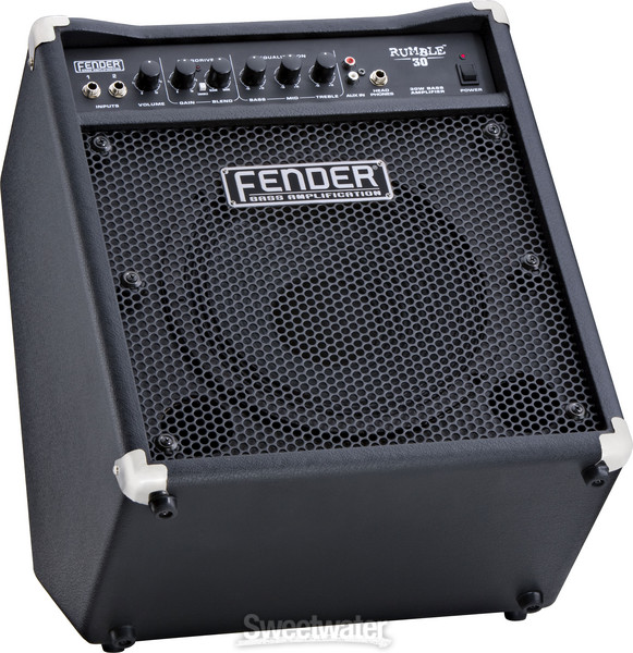 fender rumble 30 1x10 30 watt bass combo. Black Bedroom Furniture Sets. Home Design Ideas