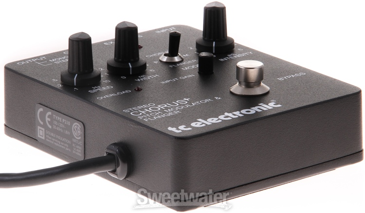 tc electronic scf stereo chorus pedal review by sweetwater sound sweetwater. Black Bedroom Furniture Sets. Home Design Ideas