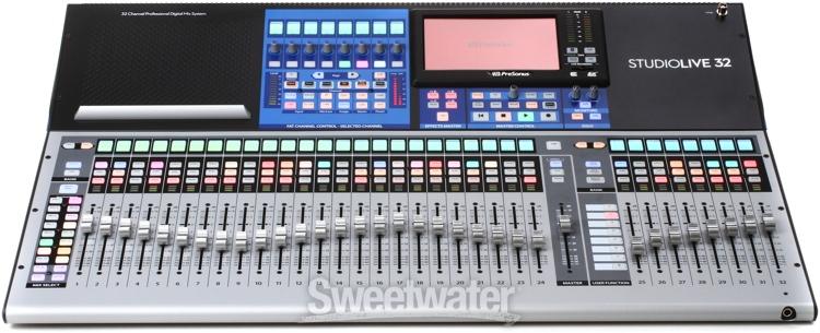 presonus studiolive 32 series iii digital mixer recorder overview sweetwater. Black Bedroom Furniture Sets. Home Design Ideas