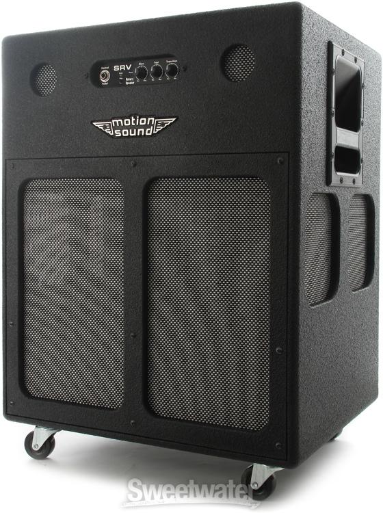 motion sound srv 212 rotary speaker cabinet w eminence sreamin 39 eagles. Black Bedroom Furniture Sets. Home Design Ideas