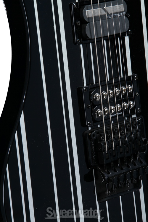 Schecter Synyster Gates Custom S Black Silver