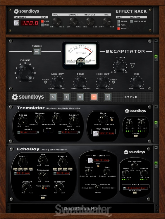 Sound Toys 5 Review : soundtoys 5 effect rack plug in review by sweetwater sound sweetwater ~ Vivirlamusica.com Haus und Dekorationen