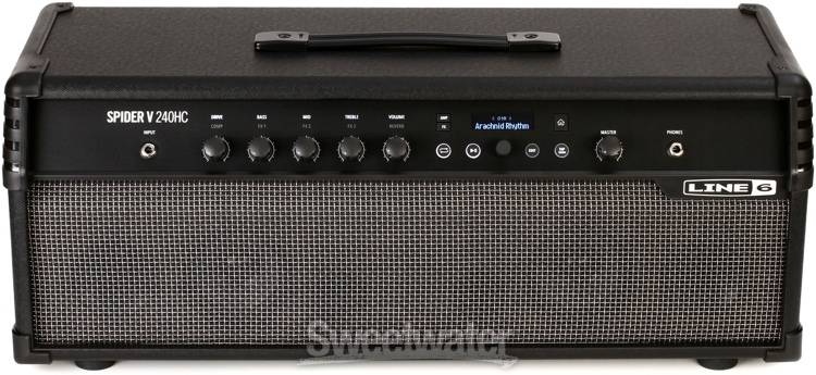 line 6 spider v 240hc head combo amplifier at winter namm 2017 sweetwater. Black Bedroom Furniture Sets. Home Design Ideas
