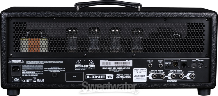 line 6 spider valve mkii hd100 100 watt modeling tube head. Black Bedroom Furniture Sets. Home Design Ideas
