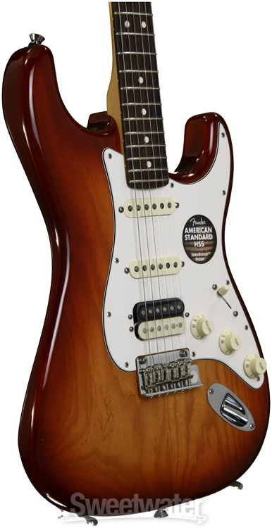 fender american standard stratocaster hss shawbucker guitar review by sweetwater sweetwater. Black Bedroom Furniture Sets. Home Design Ideas