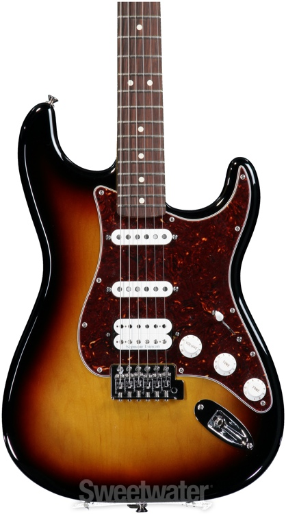 fender deluxe lone star strat brown sunburst. Black Bedroom Furniture Sets. Home Design Ideas