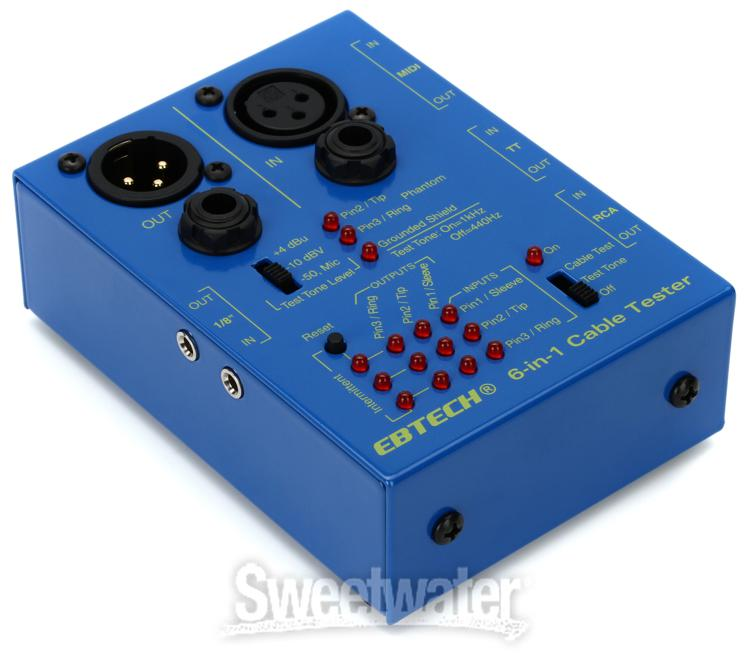 Ebtech Ct Swizz Army 6 In 1 Cable Tester Sweetwater Com