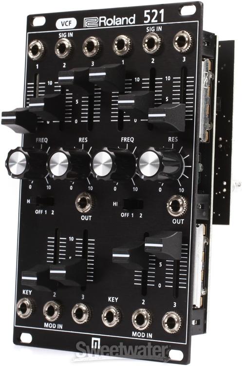 roland system 500 521 dual vcf eurorack module. Black Bedroom Furniture Sets. Home Design Ideas