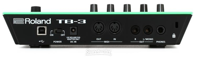 Roland Tb 3 Touch Bassline Sweetwater Com