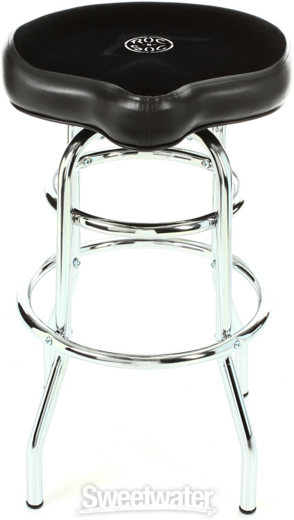 Roc N Soc Tower Saddle Stool Seat Black Demo