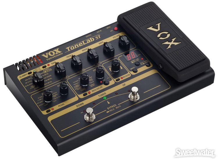 vox tonelab st multi effects pedal with expression pedal and usb. Black Bedroom Furniture Sets. Home Design Ideas