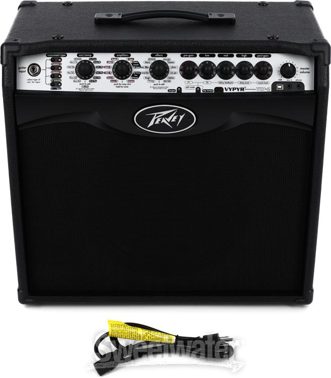 peavey vypyr vip 2 modeling 40w 1x12 guitar bass acoustic combo amp. Black Bedroom Furniture Sets. Home Design Ideas