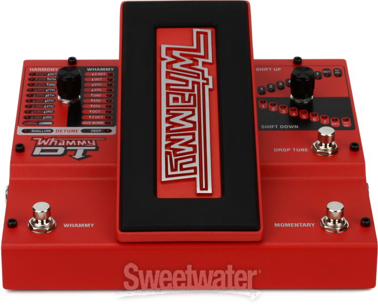 Digitech Whammy Dt Drop Tuning Sweetwater Com