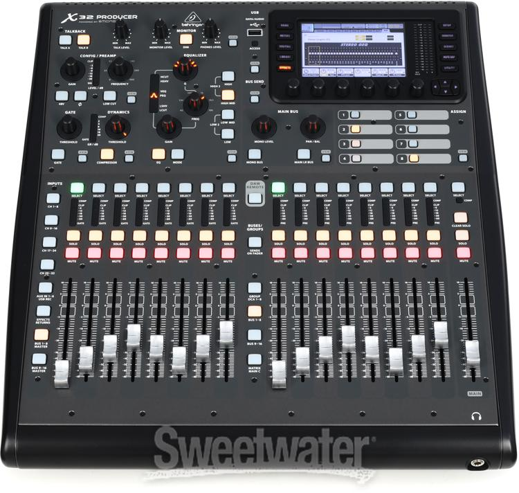 Behringer X32 Producer Sweetwater Com