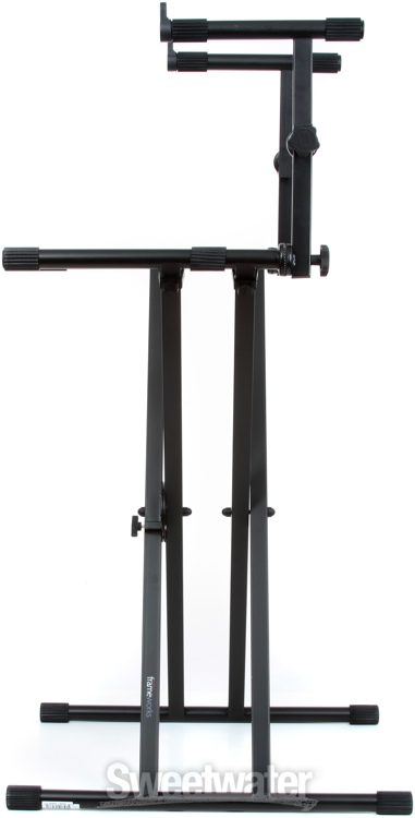 Gator Frameworks Gfw Key 5100x Deluxe 2 Tier Quot X Quot Style