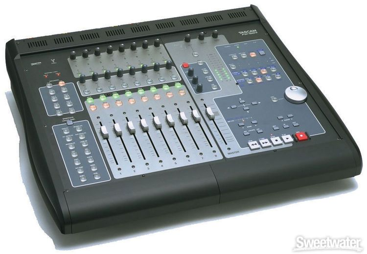 Tascam fw 1884 for Firewire mixer motorized faders