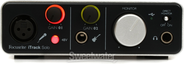 focusrite itrack solo cable extender sweetwater. Black Bedroom Furniture Sets. Home Design Ideas
