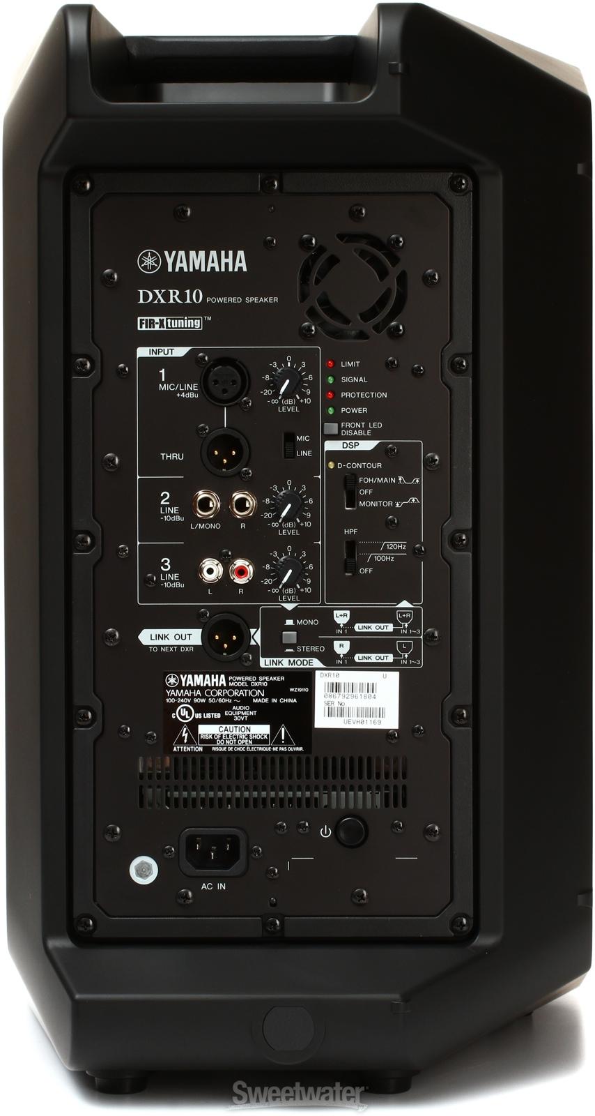 Brand new yamaha dxr10 1100w 10 active speaker free fast for Yamaha dxr10 speakers