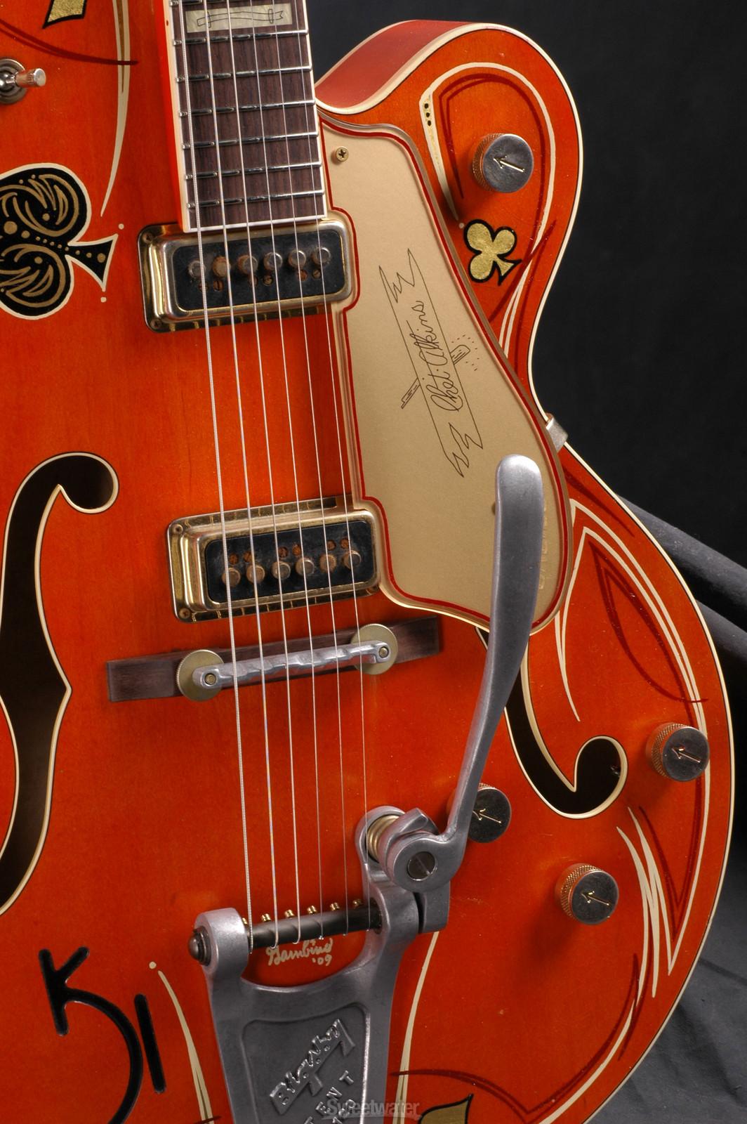 1955 Gretsch G6120DSW-R Chet Atkins Relic  1600-G6120DSWSG_closeup2