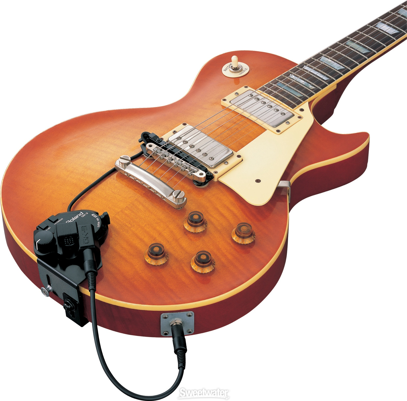 Hexaphonic And Polyphonic Pickups Parker Guitar Wiring Diagram A Godin Few Others With The Roland Stuff Or They Had Separate Unit That Could Be Fitted To Most Any If You Didnt Mind It