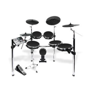 alesis dm10 studio mesh 6 piece electronic drum kit with mesh drumheads. Black Bedroom Furniture Sets. Home Design Ideas