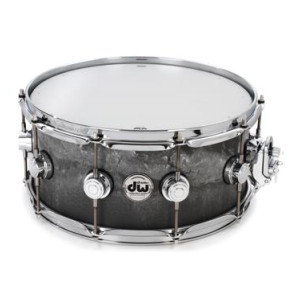 dw collector 39 s series snare drum 6 5 x14 pale blue oyster finish ply. Black Bedroom Furniture Sets. Home Design Ideas