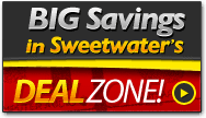 Big Savings in Sweetwater's DealZone! »