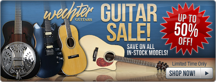 Wechter Guitar Sale