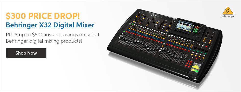 Behringer X32 Price Drop