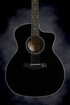 Taylor 214ce Grand Auditorium (Cutaway, Electronics, Black)