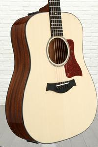 Taylor 510e Dreadnought w/Electronics - Natural