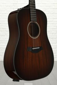 Taylor 520e Mahogany Dreadnought w/Electronics, Shaded Edgeburst