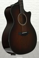 Taylor 524ce Grand Auditorium Acoustic-Electric w/Cutaway, Shaded Edgeburst