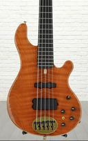 Lakland 550 - Curly Redwood, Ebony