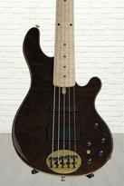 Lakland 55-94 Deluxe - Curly Redwood, Maple