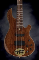 Lakland 55-94 Deluxe, Exotic Top - Walnut Burl with Rosewood Fingerboard