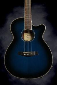 Ibanez AEG10II (Transparent Blue Sunburst)