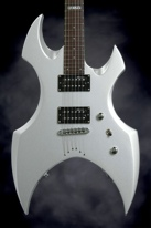 ESP LTD AX-50 (Silver Satin)