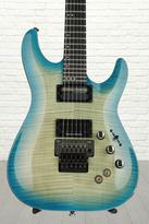 Schecter BlackJack SLS C-1 with Floyd Rose and Sustaniac - Aquaburst